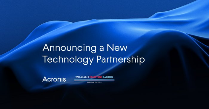 Acronis a Williams Martini Racing uzavřely strategické partnerství