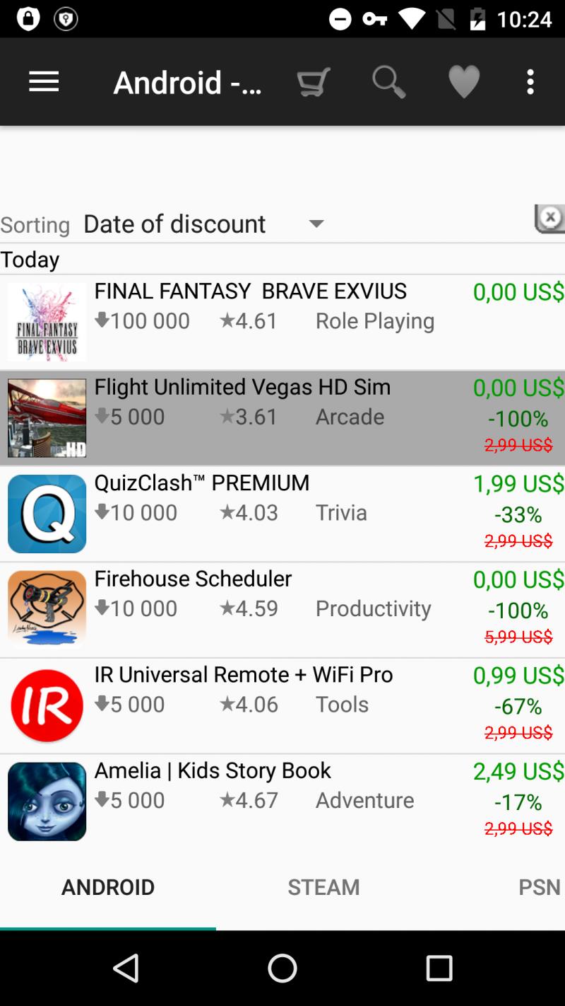 10 nejoblíbenějších aplikací pro Android