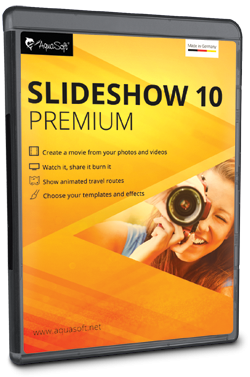 AquaSoft SlideShow 10 Premium