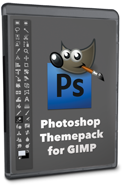 GIMP Photoshop Themepack