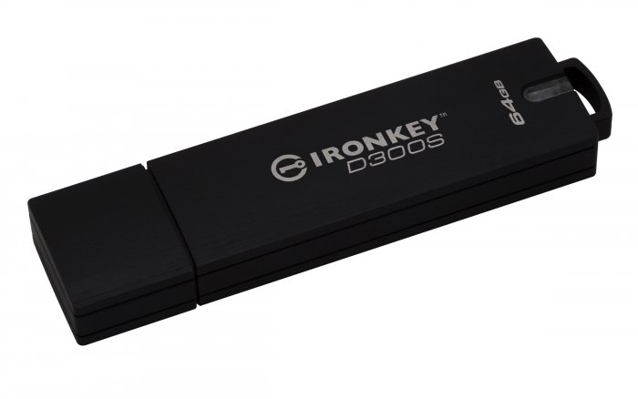 Kingston zdokonalil šifrovaný USB flash disk IronKey D300