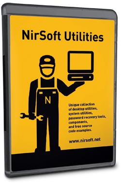 NirSoft Utilities