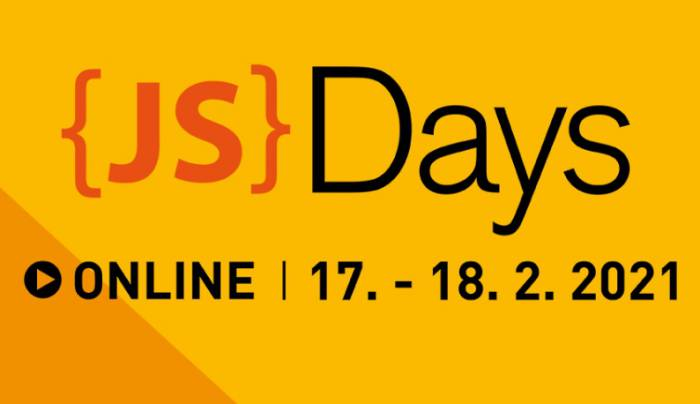 Nová konference JavaScript Days 2021