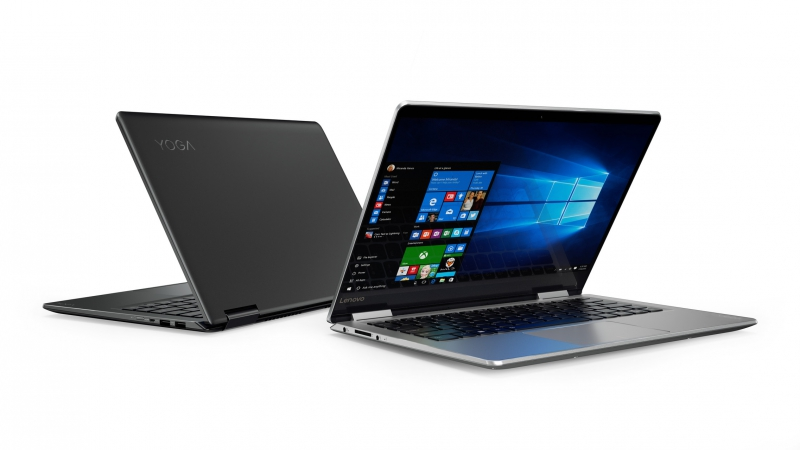 Nové notebooky Lenovo YOGA