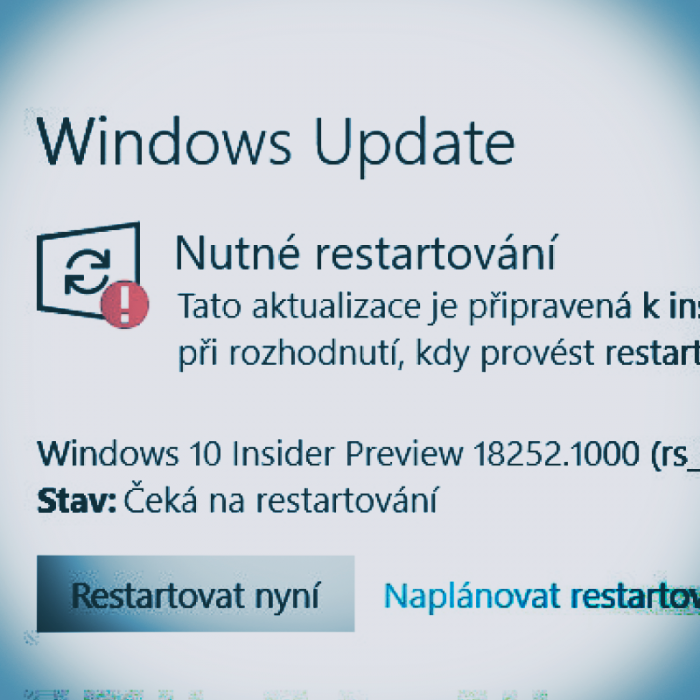 Nový mechanismus Windows Update