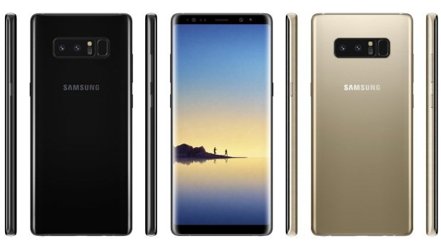 Připravte si 999 euro, 26. srpna Samsung uvede Galaxy Note 8