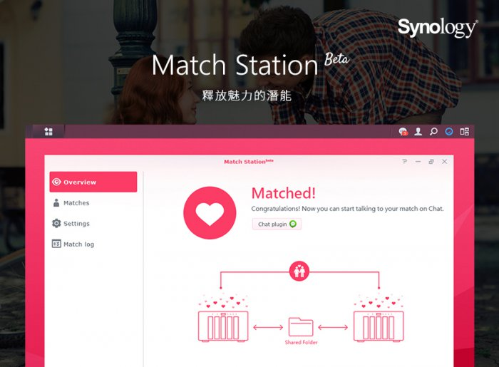 Synology uvádí Match Station beta