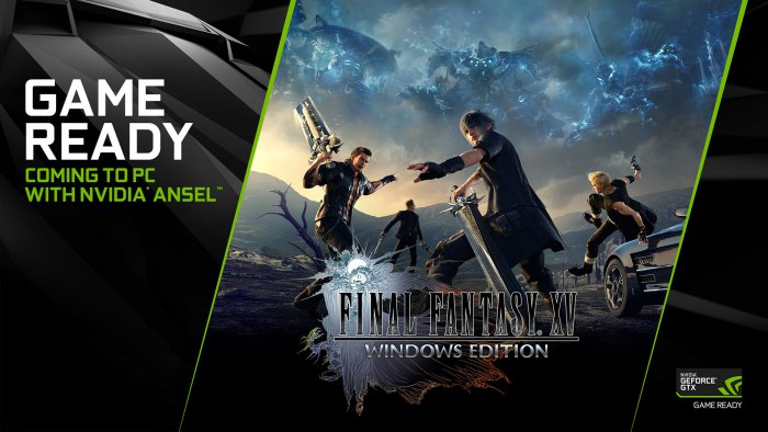 Vychází Game Ready ovladače ke hře Final Fantasy XV Windows Edition