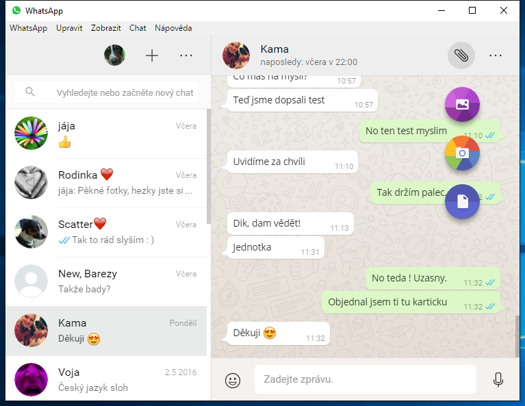 WhatsApp pro Windows a Mac