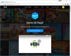1 - Скачать Remix OS Player