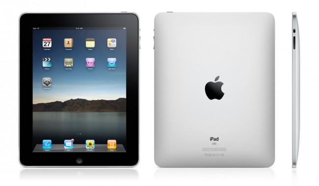 Apple iPad první generace. Foto: Apple