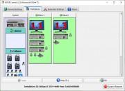 V rámci konfigurace se rozdělují hardwarové zdroje pro jednotlivá pracovní místa. Z obsahu primárného pracoviště (»Place 1«) přetáhnete myší do »Place 2« požadovaný monitor, myš a klávesnici. Dále můžete rozdělit i dostupná zvuková a USB zařízení.