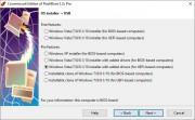 Obvyklým úkolem programu FlashBoot bude vytvoření bootovacího USB flash disku s instalačními daty operačního systému Windows. Za tímto účelem použijte funkci »OS installer → USB« a v dalším kroku zvolte, kterou verzi Windows a jakým způsobem chcete instalovat.