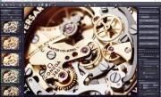 Výborné výsledky nabízí program v případě snímků různých technických objektů – např. složením různě zaostřených snímků hodinek vznikne fotografie, která krásně vykreslí každý detail takovýchto technických skvostů. Pomocí předpřipravených šablon v levé části okna rychle vyberete optimální nastavení.