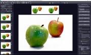 Klasickou ukázku schopností programu ukazují dva snímky dvou různě umístěných jablek – na jedné fotoaparát zaostřil na jablko umístěné blíže a na druhém na to vzdálenějším. Složením obou snímků vznikla fotografie, na které jsou dokonale zaostřená obě jablka.