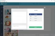 Při exportu hotové grafiky máte na výběr z formátů JPG a PNG, ale pro mnoho uživatelů bude jistě zajímavější přímý export na sociální sítě Facebook, Twitter, Pinterest či Tumblr. Nezapomeňte si také grafiku uložit jako rozpracovaný projekt, abyste se k ní mohli kdykoli vrátit a pokračovat v úpravách.