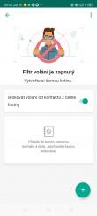 Když aplikaci Kaspersky Internet Security for Android povolíte přístup k adresáři vašich kontaktů, budete si moci nastavit seznam blokovaných telefonních čísel, od kterých nebudou přijímány hovory. Pro nežádoucí kontakty bude vaše telefonní číslo vždy obsazeno.