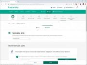 Monitoring sociálních sítí je nutné ve webovém rozhraní Kaspersky Safe Kids nejprve aktivovat, abyste následně mohli kontrolovat, s kým se vaše děti na sociálních sítích baví a jaký obsah sledují a samy sdílejí. Nezapomeňte také aktivovat a nastavit časové limity pro používání dětských zařízení.
