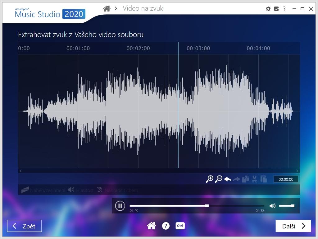 Šikovnou funkcí je také možnost ukládat zvukovou stopu z videí, se kterou si do hudebního souboru můžete uložit třeba videoklip stažený z YouTube nebo záznam koncertu na DVD. Pro její použití je však potřeba nejprve do počítače nainstalovat potřebnou sadu kodeků – doporučujeme použít například balíček »K-Lite Codec Pack«.