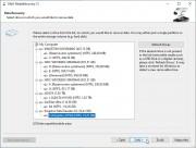 Práce s programem je i přes anglické rozhraní opravdu snadná. V prvním kroku průvodce stačí kliknout na tlačítko »Další« a v následujícím okně vybrat disk, ze kterého potřebujete obnovit nechtěně smazané multimediální soubory.