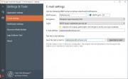Po úvodním nastavení zálohovacích úloh v programu Hard Disk Manager probíhá zálohování už zcela automaticky. O výsledcích a třeba i chybách během procesu zálohování vás může Hard Disk Manager informovat e-mailovými zprávami. Jejich zasílání se nastavuje v nabídce »E-mail settings«.