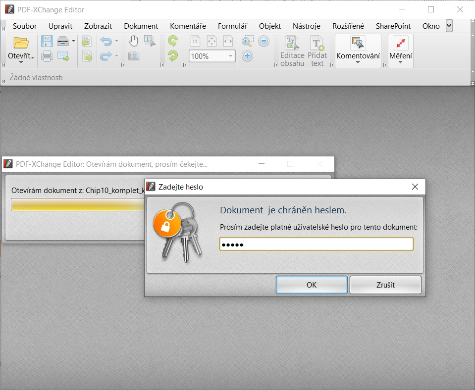 K otevření PDF souboru, zaheslovaného s pomocí programu XenArmor PDF Password Protector Pro, budete vždy potřebovat příslušné heslo – bez ohledu na to, jaký PDF prohlížeč použijete. Pokud heslem chráníte jen kopírování obsahu, úpravy nebo tisk, půjde dokument normálně otevřít.