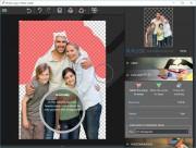 Ořezávání objektů (typicky postav) na snímcích je s programem InPixio Photo Cutter velmi snadné. V nabídce »Cut-out« si zvolíte buďto červený značkovač na označení oblastí ke smazání, nebo zelený na obtažení míst, které mají na snímku zůstat. O zbytek se program postará automaticky.
