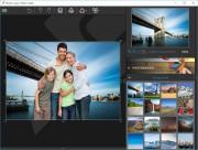 Dalším krokem po oříznutí objektů na snímku může být vytvoření fotomontáže – tedy například zasazení osob z fotky do některého z pozadí, připravených v nabídce »Photomontage«. Výsledný snímek pak můžete z programu InPixio Photo Cutter exportovat v běžných formátech.