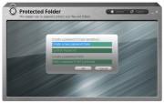 Aby mohl program Protected Folder spolehlivě chránit vaše soubory, je třeba při jeho prvním spuštění zvolit dostatečně silné hlavní heslo. Protected Folder vám nedovolí použít heslo kratší než 6 znaků, pokud to ovšem myslíte s bezpečností opravdu vážně, neváhejte ještě alespoň dva znaky přidat.