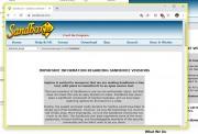 Stahování souborů do sandboxu: Izolovány zůstanou také všechny soubory, které si prostřednictvím prohlížeče spuštěného v sandboxu stáhnete. Pro přístup k nim použijte opět kontextovou nabídku tlačítka Sandboxie v oznamovacím panelu, ale tentokrát použijte funkci »DefaultBox | Ukázat obsah«. Otevře se okno Průzkumníku a stažené soubory pak najdete ve složce »usercurrentDownloads«.