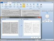 Před uložením naskenovaného dokumentu do některého z podporovaných formátů (PDF, DOCX nebo DjVu) lze kromě oříznutí a otočení použít i funkci na úpravu jasu a kontrastu, se kterou lze vylepšit digitální kopii různě poškozených nebo málo čitelných dokumentů. Výsledek si můžete zkontrolovat v náhledu.