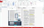 U funkcí na úpravu obsahu, dostupných na kartách »Edit« a »Insert«, je třeba počítat s tím, že ne všechny fonty používané v různých PDF dokumentech budete mít instalovány ve svém počítači, a proto nemusí být vždy snadné upravit textový obsah dokumentu tak, aby změna nebyla na první pohled patrná.