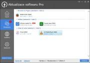 Nejdůležitější nabídka programu Glarysoft Software Update je připravena pod popiskem »Aktualizace« a najdete v ní seznam instalovaných aplikací, ke kterým je k dispozici aktualizace. Můžete si přitom zkontrolovat označení verzí a tlačítkem »Instalace« si stáhnout a následně instalovat nejnovější verzi dané aplikace.