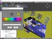 Žádná zásadní nastavení v programu Syvir PC Build nehledejte. S 3D modelem lze volně pohybovat a zoomovat, ale jinak se možnosti úprav zobrazení omezují jen na změnu pozadí nebo ovládání nasvícení modelu. Zobrazení modelu lze ovládat myší nebo prostřednictvím ovladače se čtyřmi šipkami vpravo nahoře.