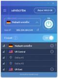 Použití aplikace Windscribe ve Windows je naprosto jednoduché, stačí se jen přihlásit uživatelským účtem a následně si zvolit zemi, přes kterou chcete vaše internetové připojení přesměrovat. Pokud vám nejde o zpřístupnění lokálně omezených služeb, ale jen o ochranu připojení, zvolte server doporučovaný aplikací.