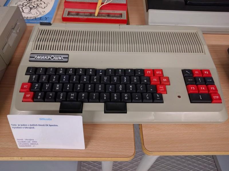 Mikroša - ukrajinský klon úspěšného ZX Spectra.
