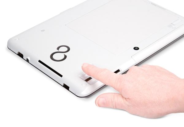 Fujitsu STYLISTIC Q550 - čtečka otisků prstů
