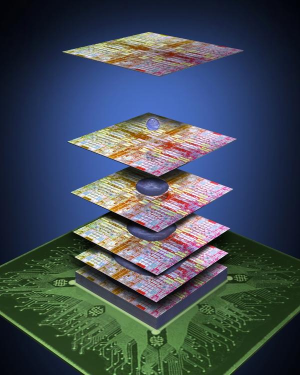 """3M a IBM plánují křemíkové """"mrakodrapy"""""""