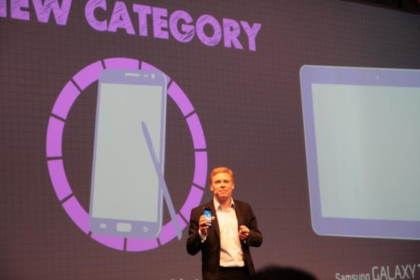 Nová kategorie zařízení - Samsung Galaxy Note. Něco mezi smartphonem a tabletem.