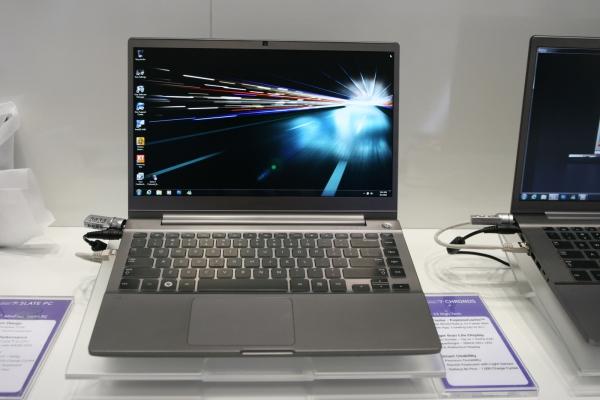 Notebook Series 7 CHRONOS má na základní desce 8GB flash paměť, která slouží jako cache a urychluje start systému.