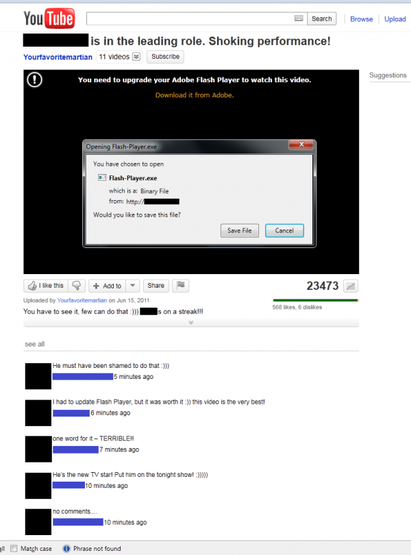 Ukázka Win32/Delf.QCZ