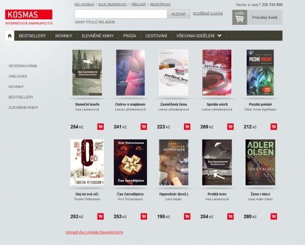 Kosmas: Internetové knihkupectví.