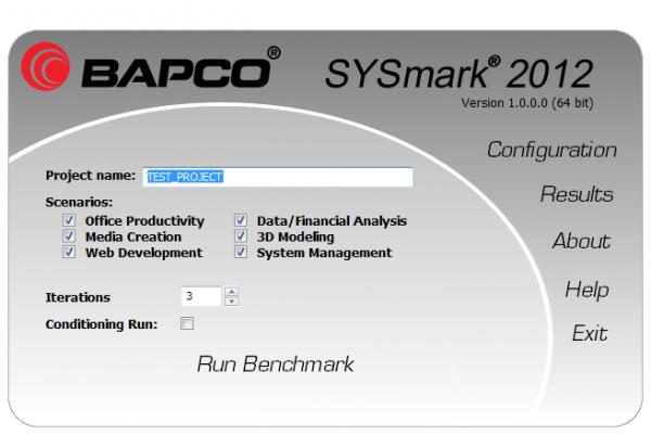 BAPCo SYSmark 2012