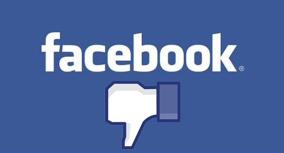 Facebook - Don´t like this