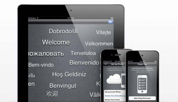 S novou funkcí PC Free mohou uživatelé zařízení se systémem iOS 5 aktivovat a nastavovat svá zařízení po vybalení a bezdrátově stahovat aktualizace softwaru bez potřeby počítače.