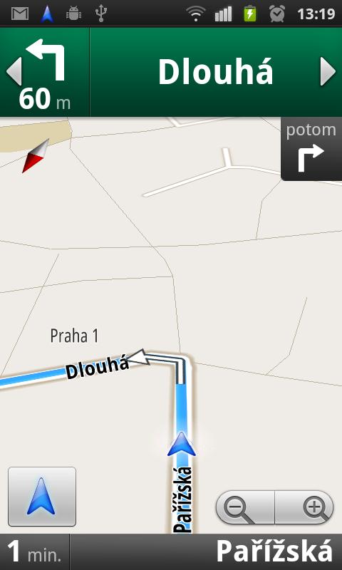 Google Mapy: Běžná mapa