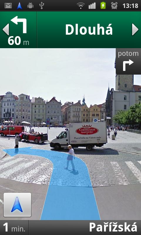 Google Mapy: Street View