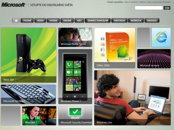 Digitální svět podle Microsoftu