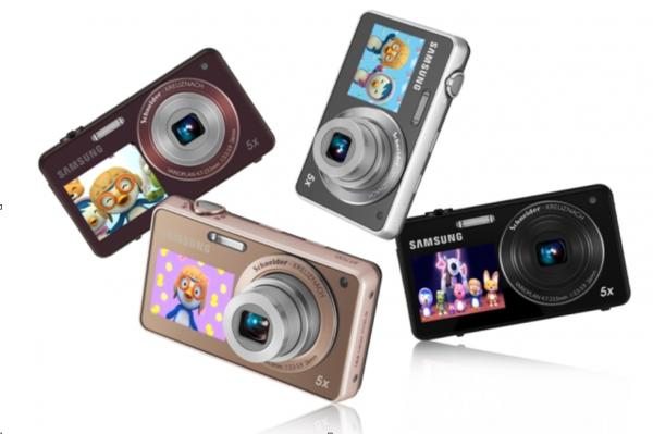 Samsung PL120 a animace na předním displeji