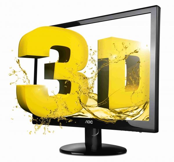 3D monitor AOC e2352Phz